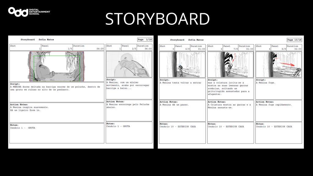 Curso de Storyboard Odd School